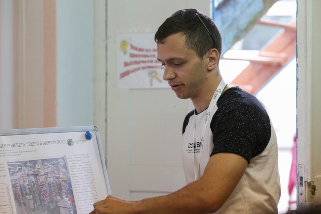 Студент из Севастополя научил электронику считать людей в видеопотоке