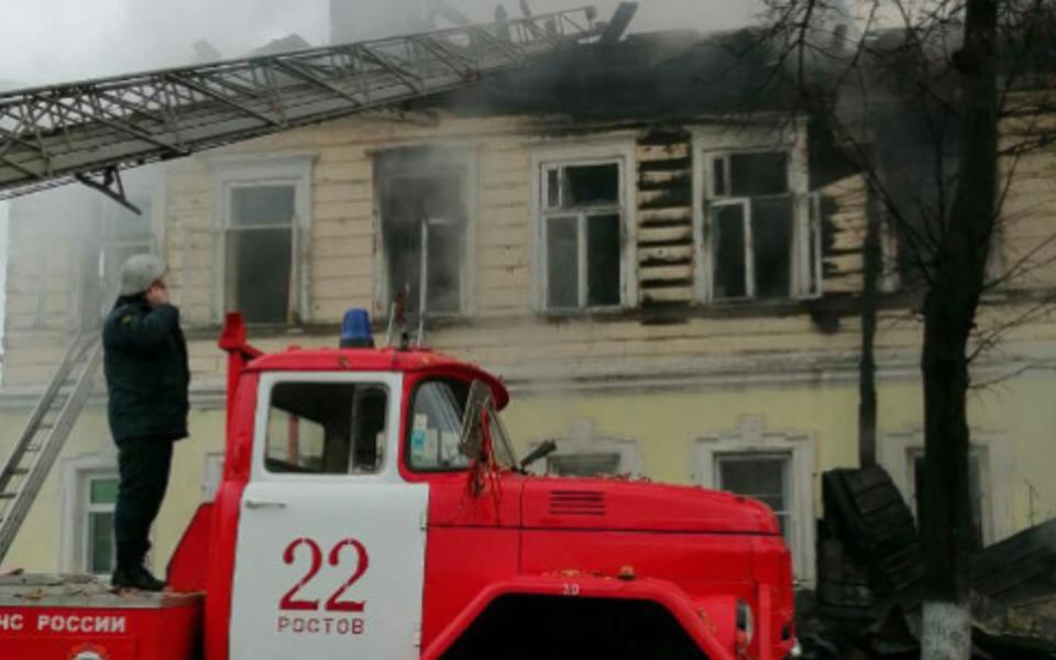 Пятеро детей погибли на пожаре в жилом доме Ростова