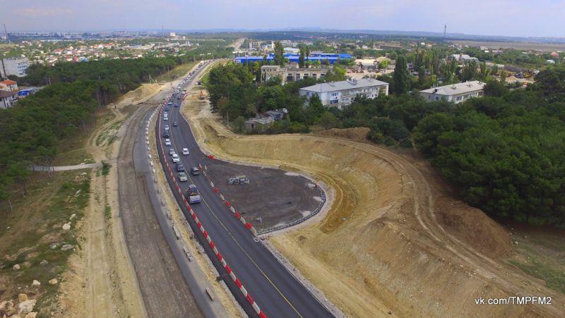 Стало известно, когда возобновят работы на Камышовом шоссе в Севастополе