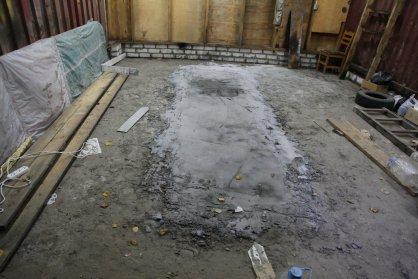 В Брянске нашли забетонированное тело мужчины