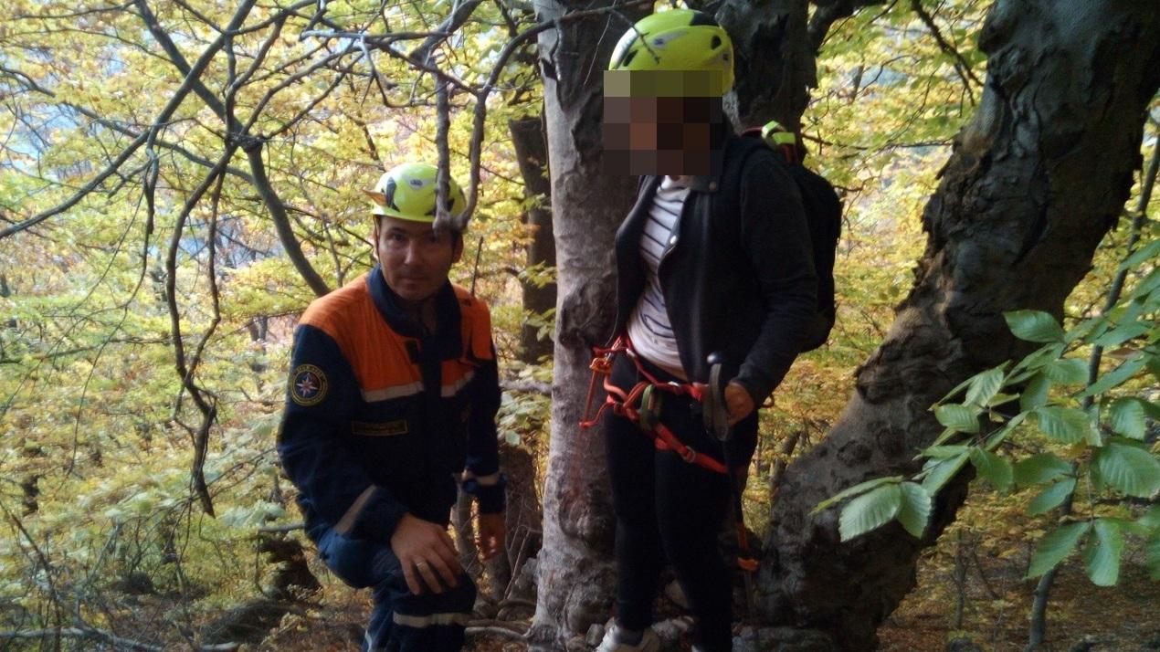 В Крыму две туристки заблудились и оказались в опасности