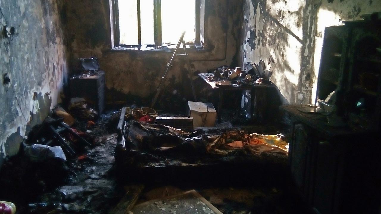 В Крыму на пожаре в общежитии погибла пенсионерка