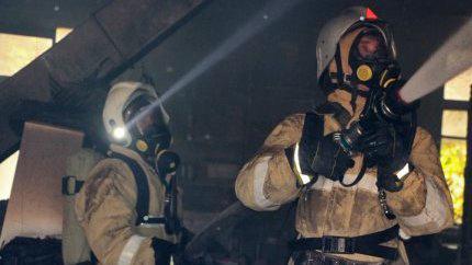 В Крыму на пожаре спасли четырехлетнего ребенка