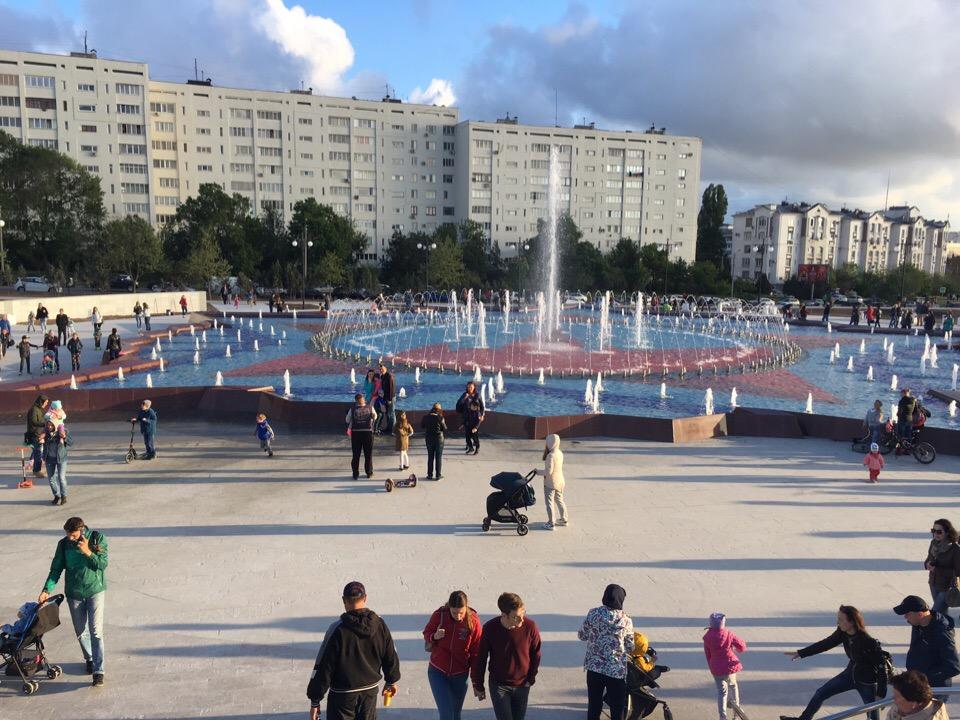 Фонтан в Парке Победы почистили после публикаций в СМИ