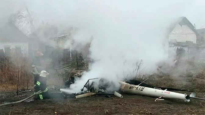 Украинский экс-министр разбился при крушении вертолета