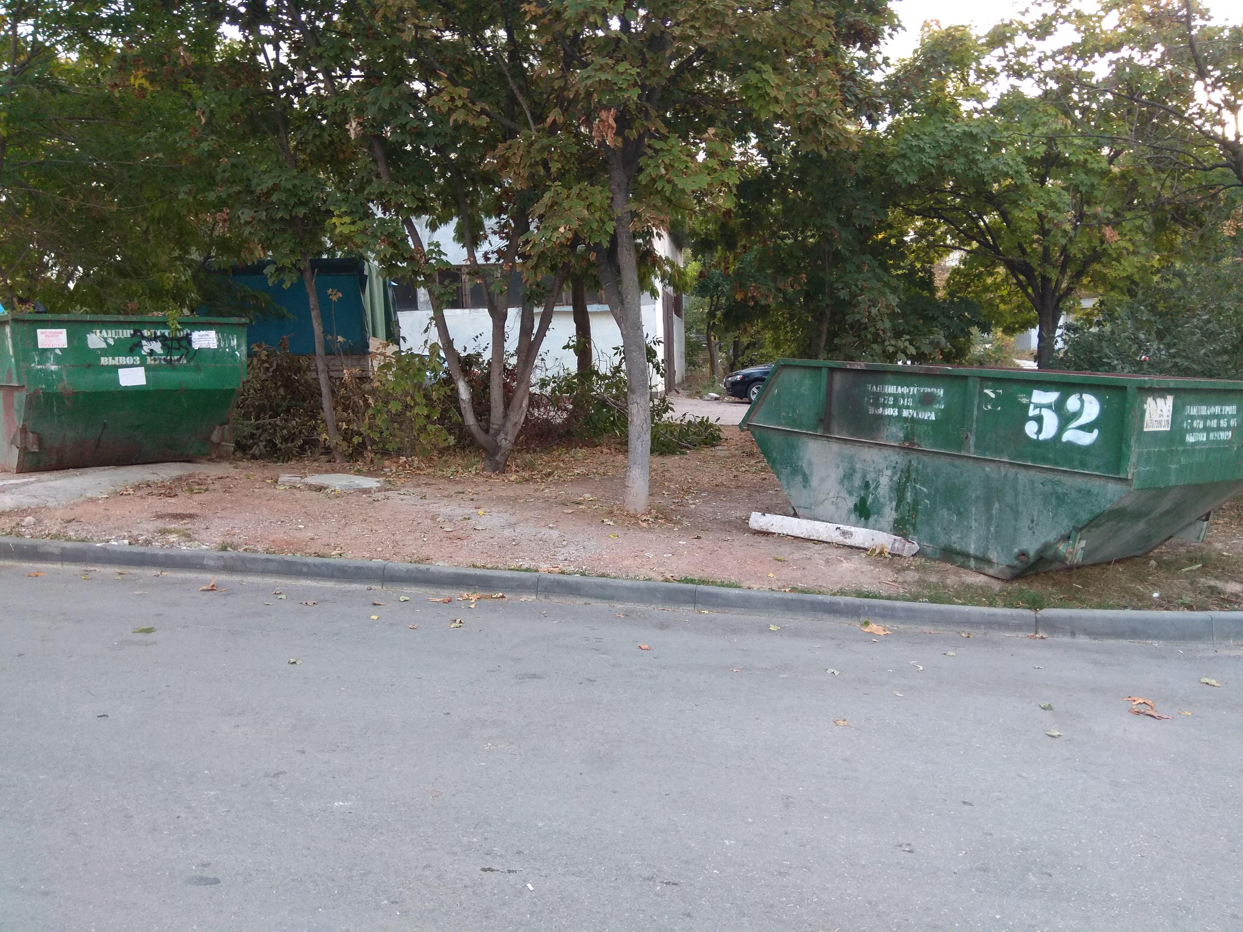 Гагаринский район тонет в мусоре без «лодок»
