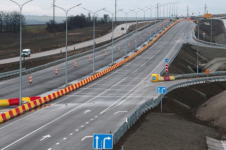 В Крыму планируют построить сеть курортных дорог от Тавриды