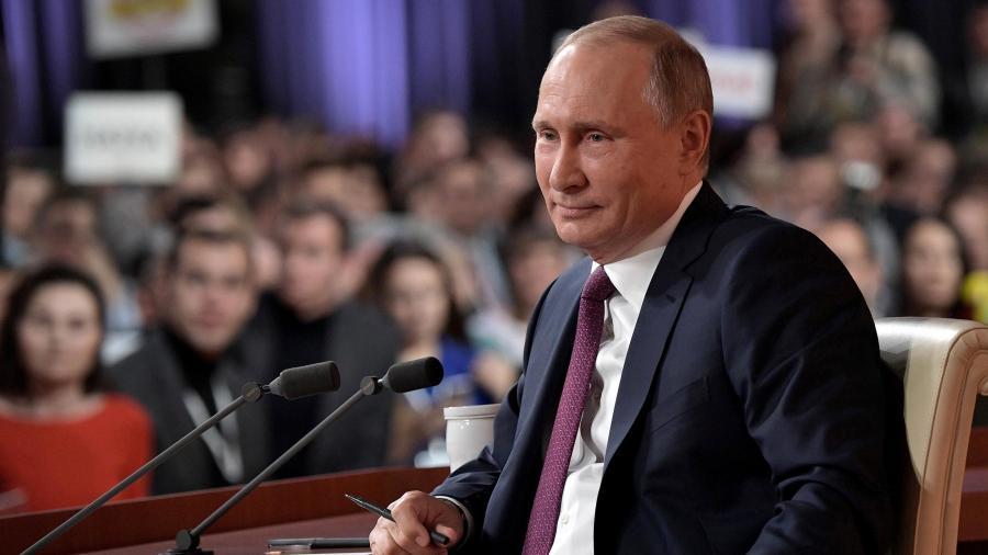 Когда пройдет большая пресс-конференция Владимира Путина
