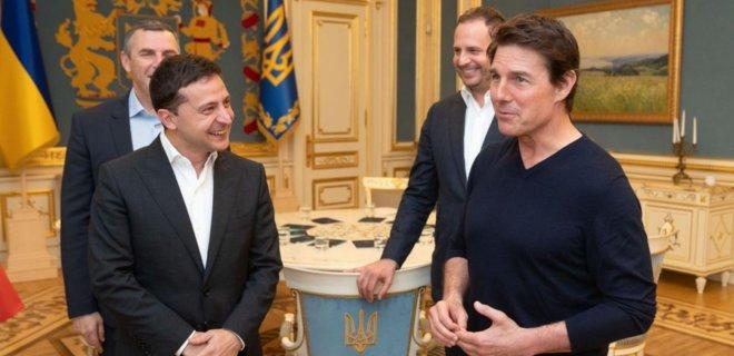 Том Круз заявил о желании снимать фильмы на Украине