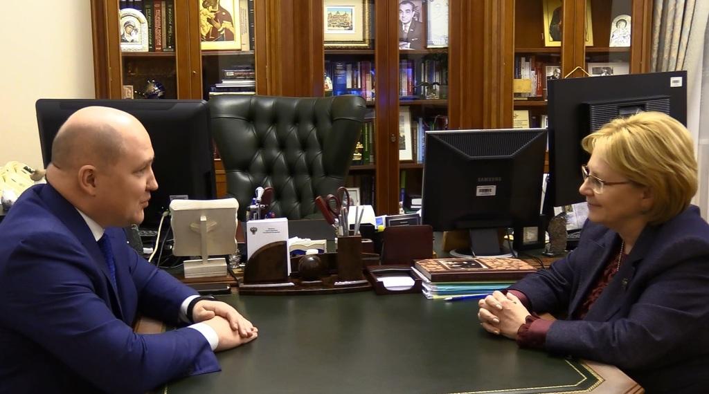 Министр здравоохранения РФ обсудила медицину Севастополя с Михаилом Развожаевым