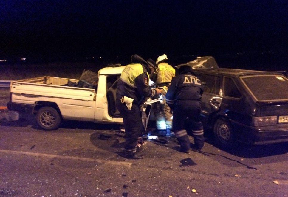 Возле Крымского моста произошло крупное ДТП — четверо в больнице