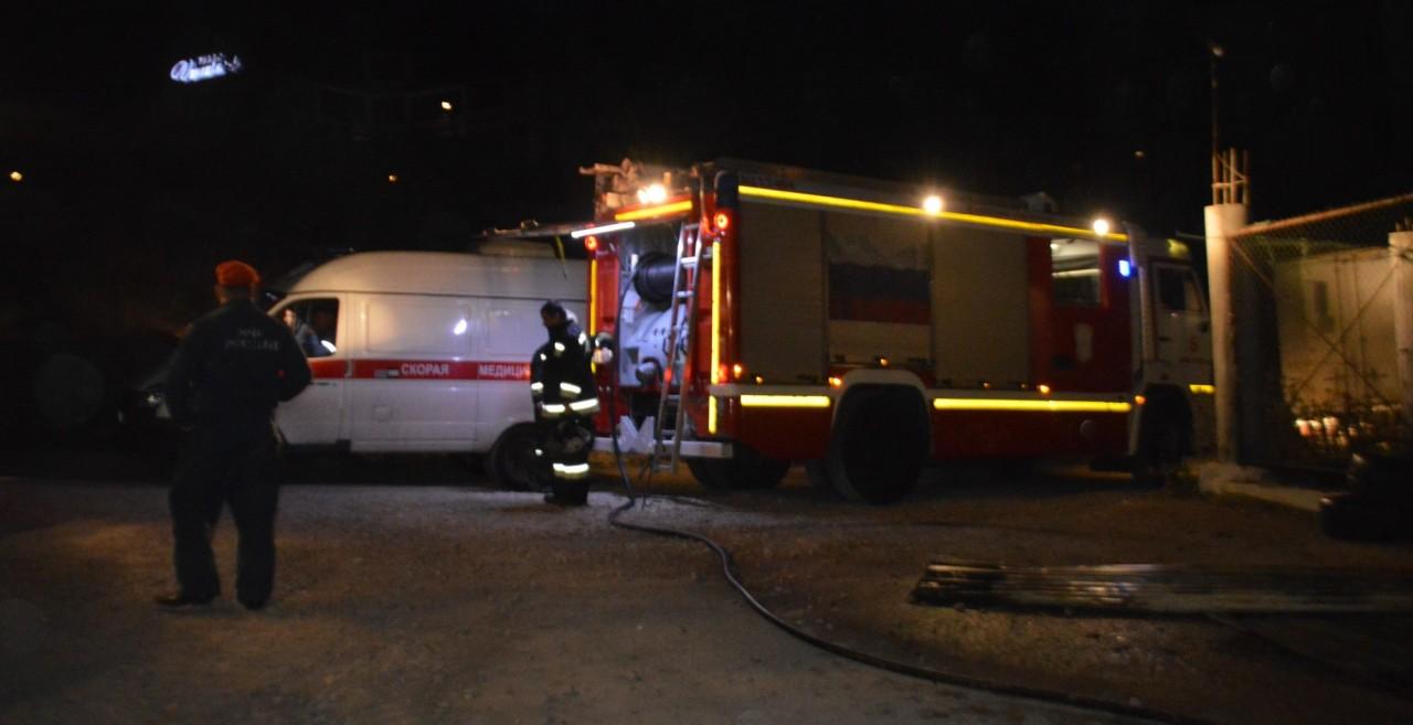 На пожаре в Севастополе погиб мужчина