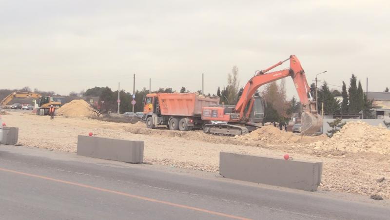 Севавтодор начал работы на Камышовом шоссе
