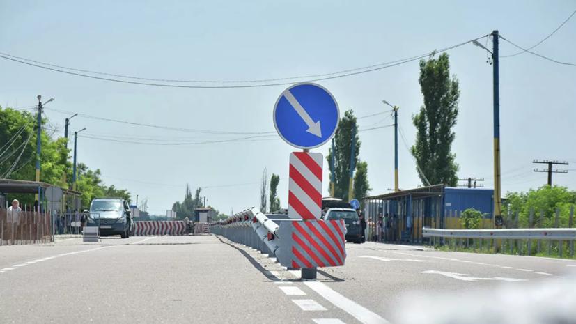 Украинские КПП на границе с Крымом возобновляют свою работу