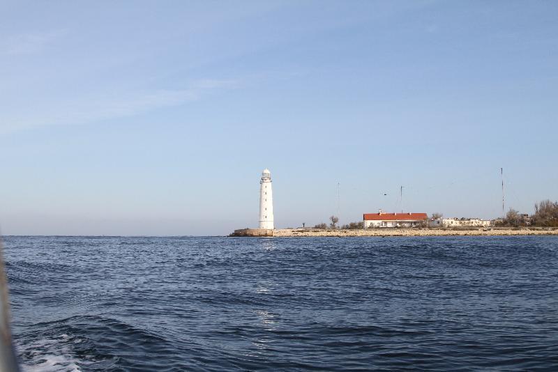 В море у берегов Севастополя нашли осколочную бомбу