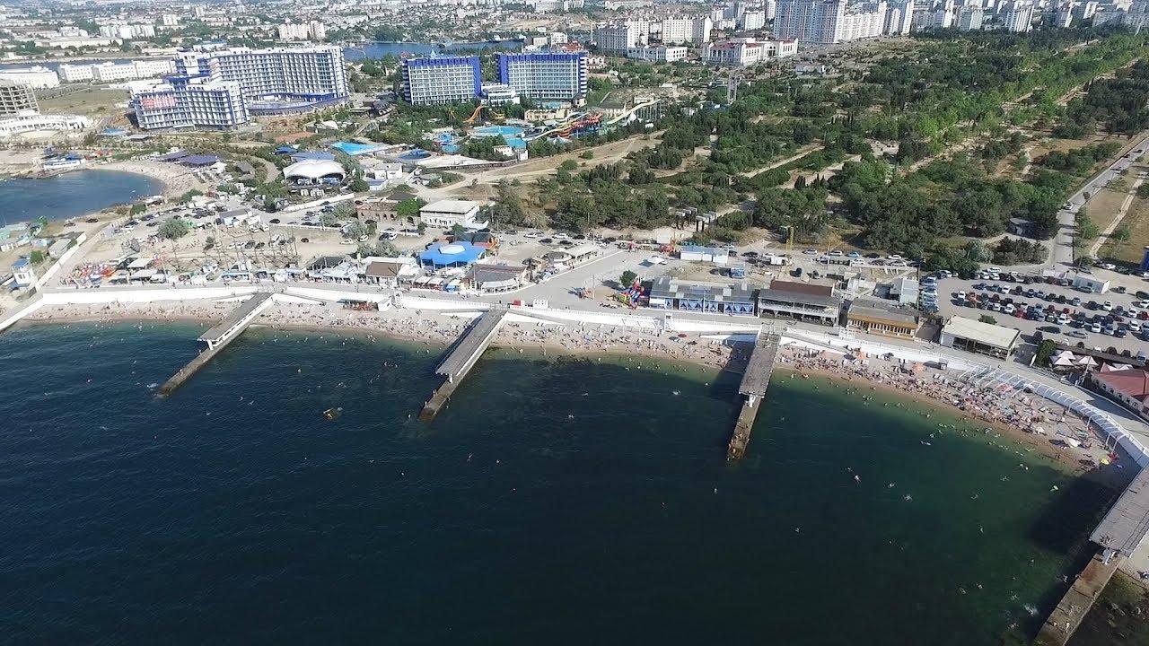 В Севастополе благоустроят только половину набережной Парка Победы