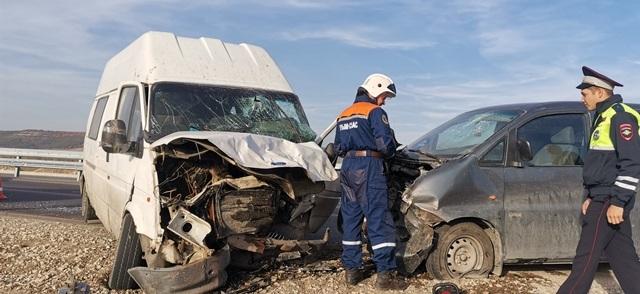 В двух ДТП под Бахчисараем пострадали пять человек