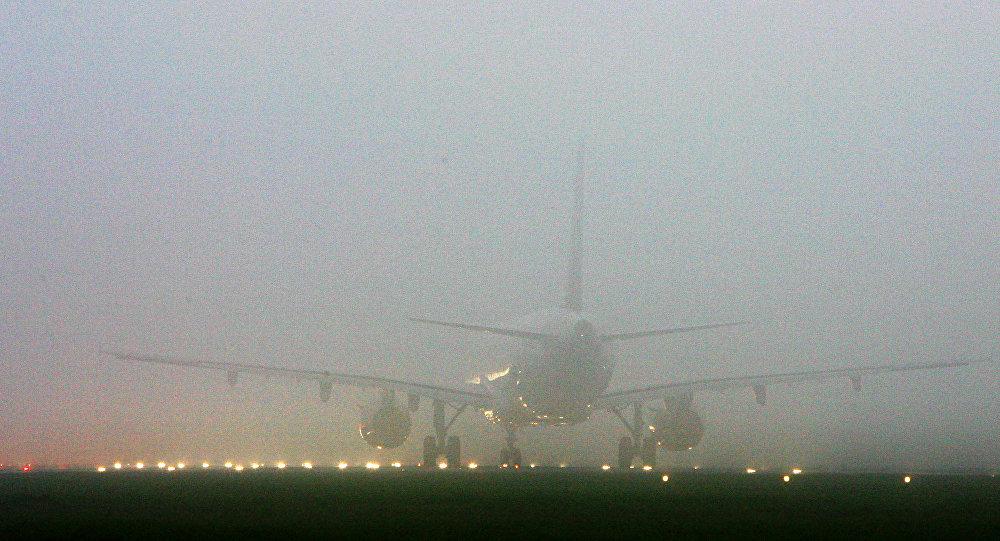 Из-за тумана в Симферополе задержаны авиарейсы, один полностью отменен