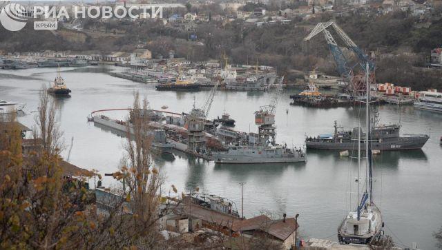 В Севастополе затонула подводная лодка