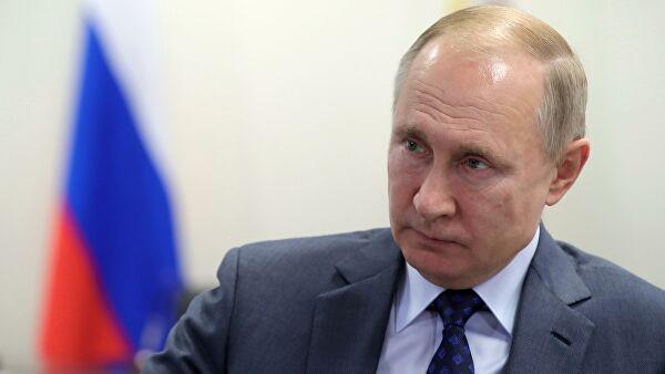 Владимир Путин прибыл в Анапу для участия в церемонии открытия железнодорожного движения по Крымскому мосту