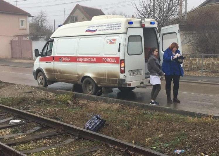В Крыму поезд насмерть сбил пенсионерку