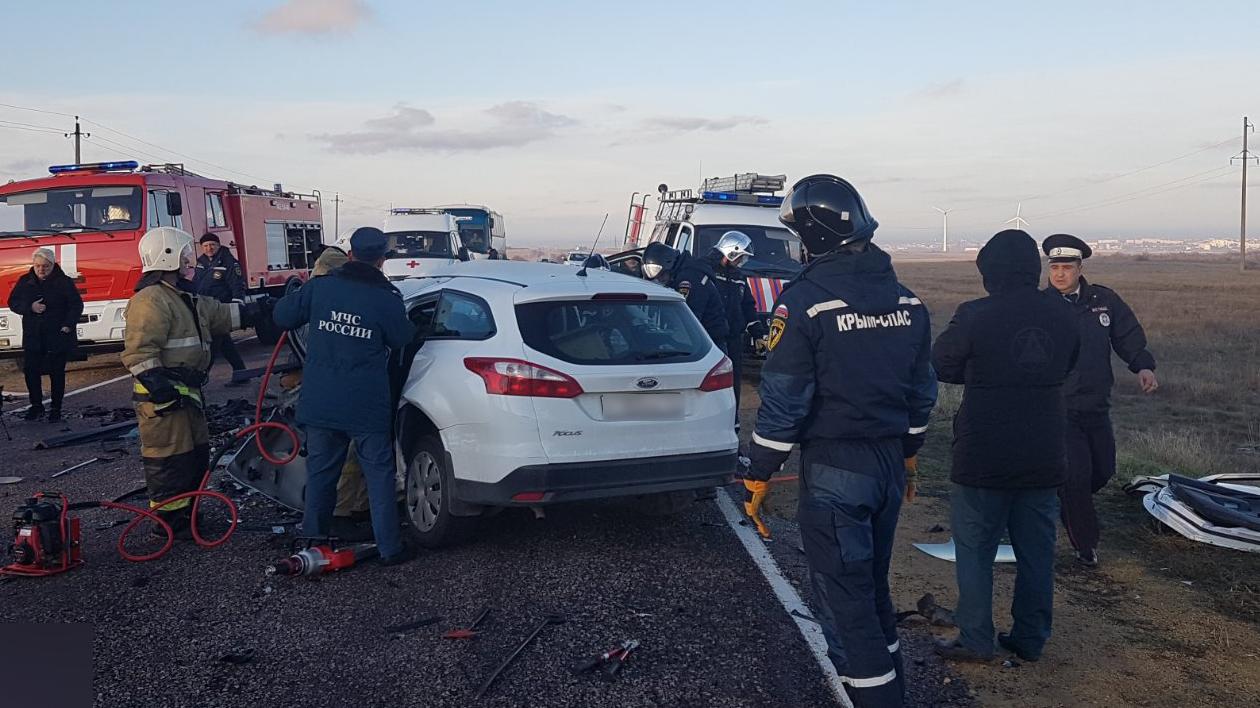 В МЧС рассказали подробности аварии с четырьмя погибшими в Крыму