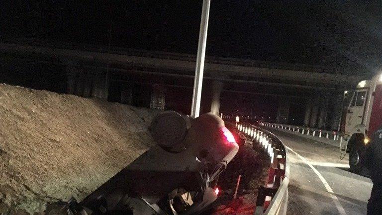 В ДТП на крымских дорогах пострадали три человека