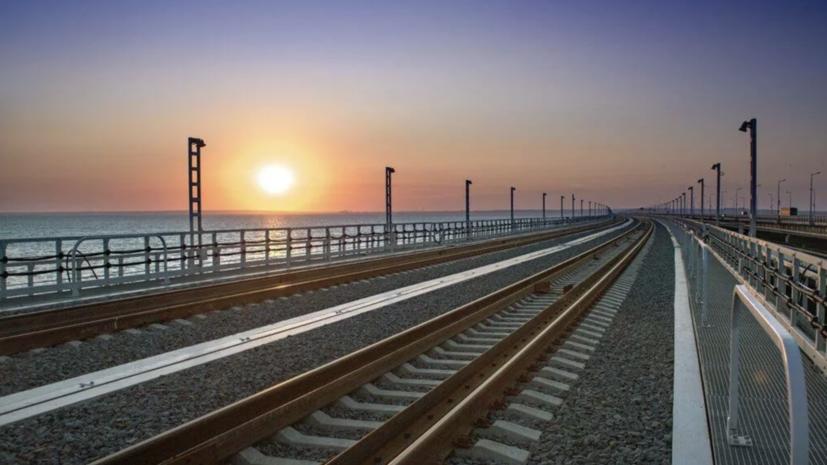 Ростуризм прорабатывает семь новых маршрутов поездов в Крым