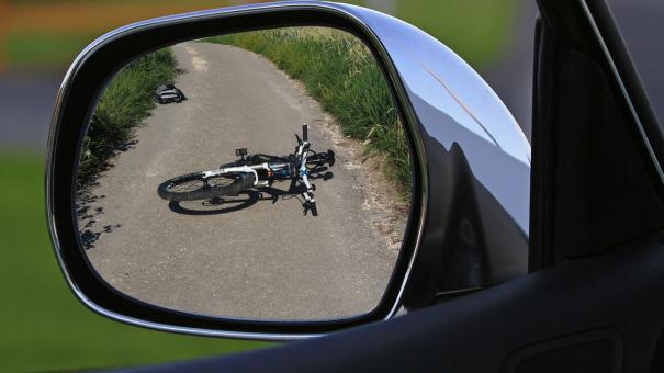 Машина сбила велосипедиста в Евпатории