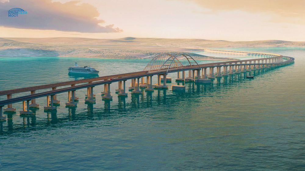 Минтранс рекомендует судам четыре дня не проходить под Крымским мостом