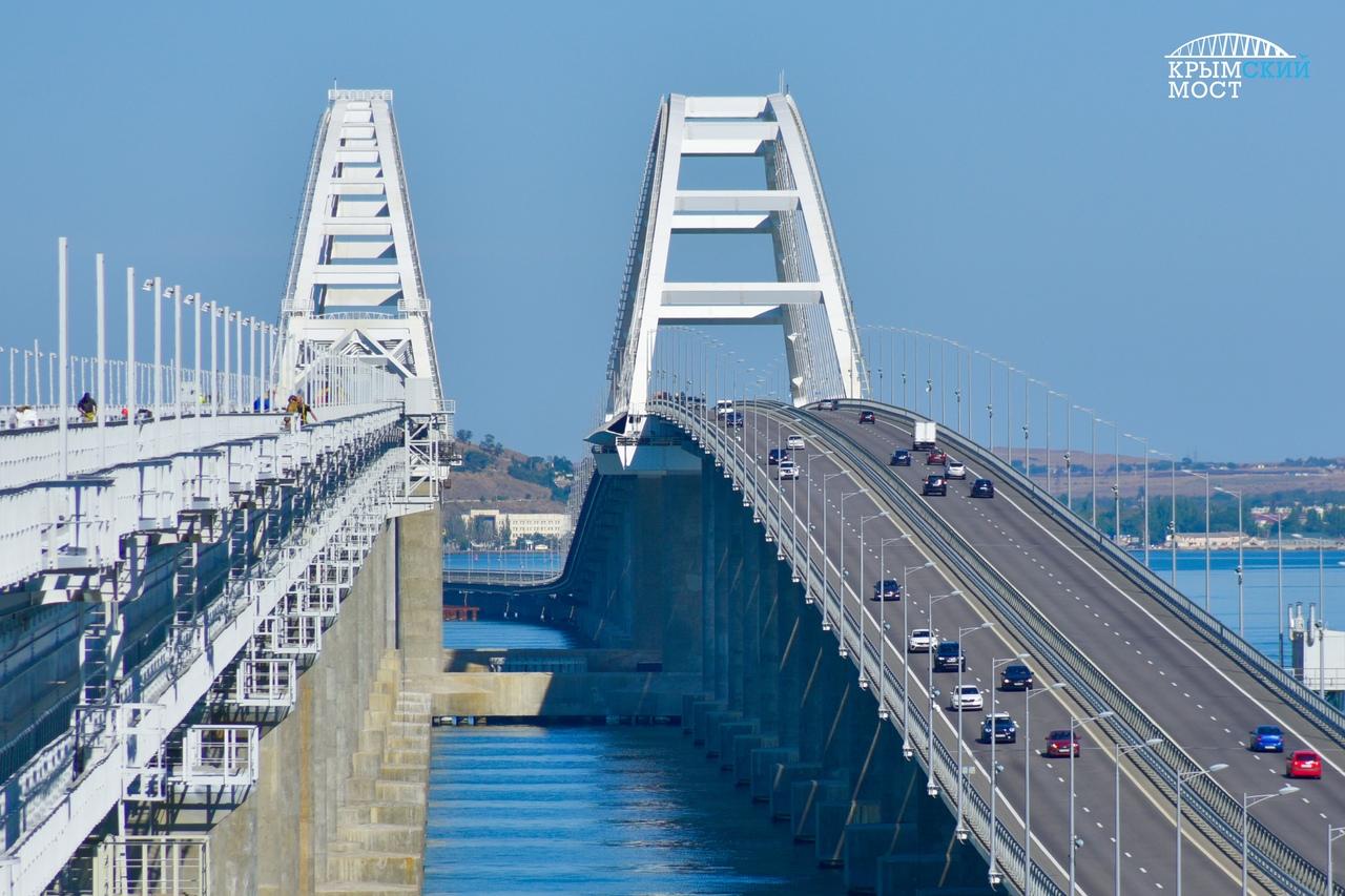 «Ваши лучшие 147 секунд за день»: строительство Крымского моста показали в одном ролике