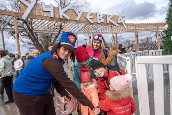 В Севастополе официально открыли парк «Учкуевка»