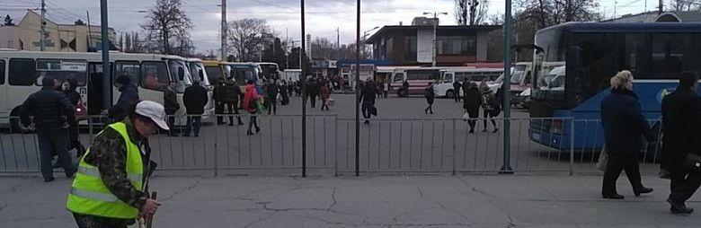 Вслед за Севастополем: на автостанции Симферополя также ввели пропускной режим