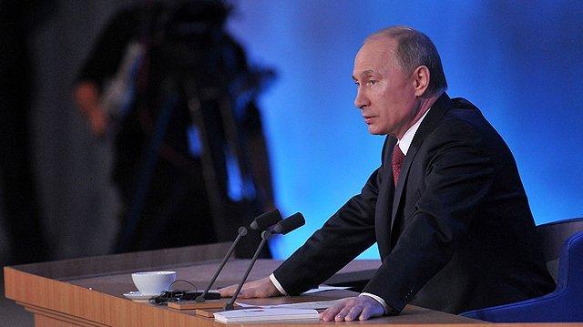Завтра Владимир Путин проведет большую пресс-конференцию