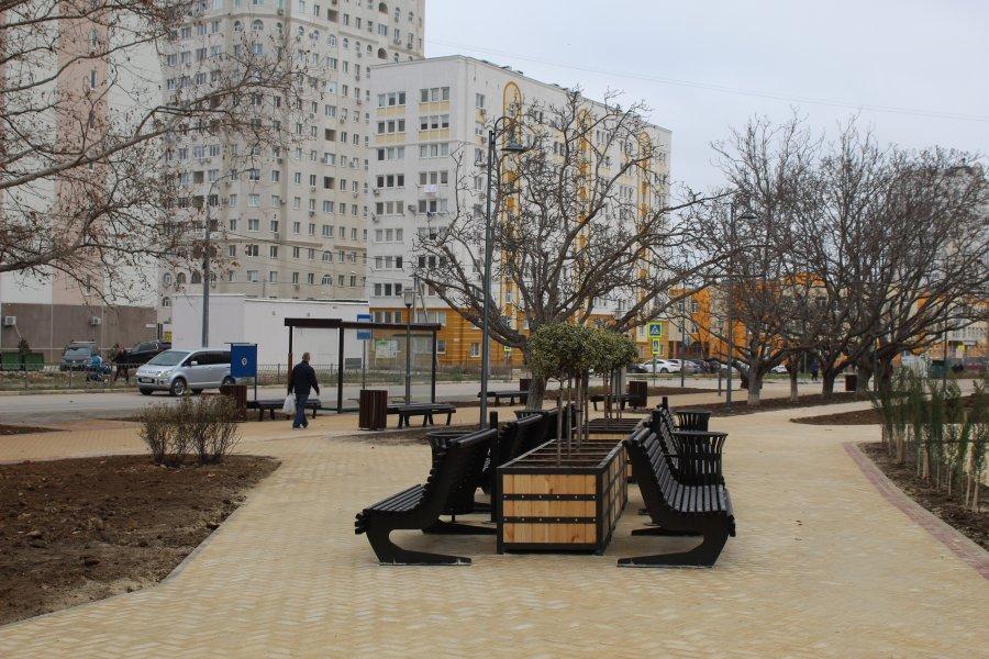 Еще одно общественное пространство Севастополя открыли после благоустройства