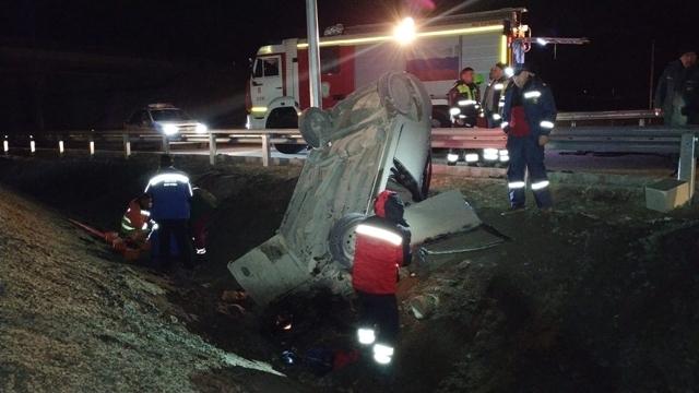 В двух ДТП в Белогорском районе Крыма погиб человек и трое пострадали