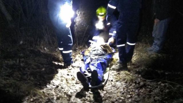 В Крыму беспомощный мужчина пролежал сутки в лесу