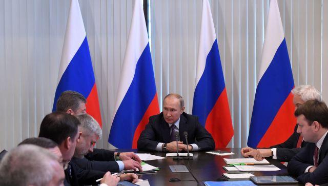 Владимир Путин рассказал о развитии Крыма и Севастополя
