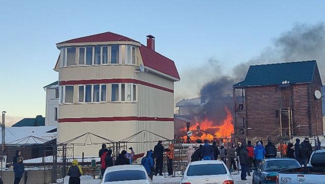 На Ай-Петри произошел крупный пожар