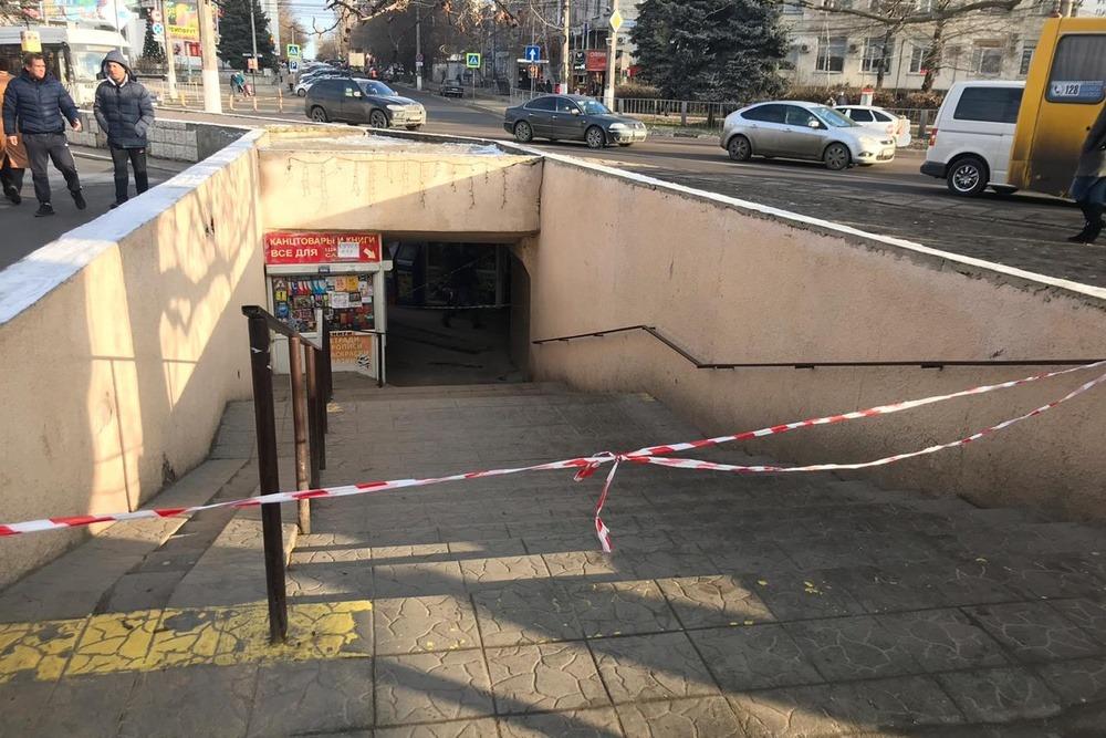 Неизвестные устроили серию поджогов в подземных переходах Симферополя