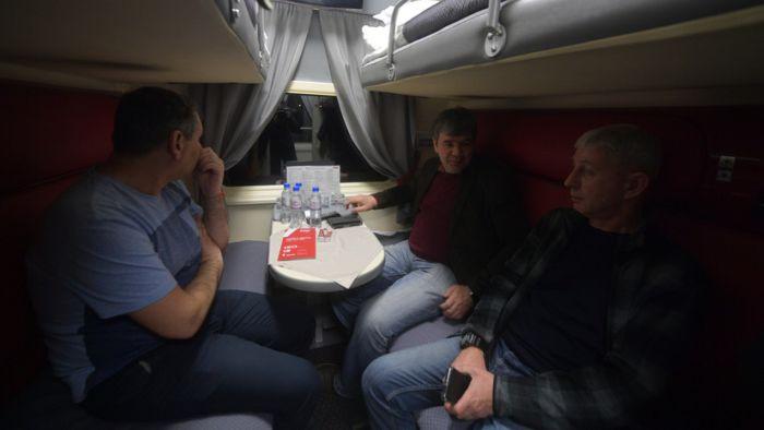 Россияне рассказали, чего им не хватает в поездах