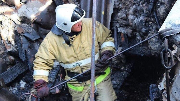 На пожаре в Крыму спасли 52-летнего мужчину