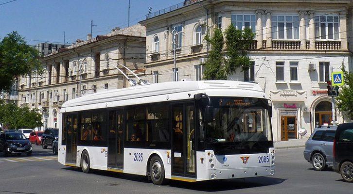 В Севастополе изменят схему движения троллейбусов и автобусов