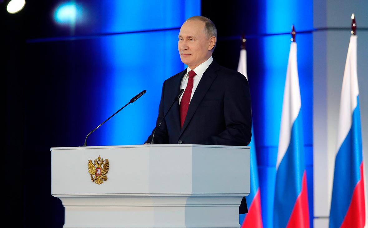 Путин предложил выдавать маткапитал после рождения первенца
