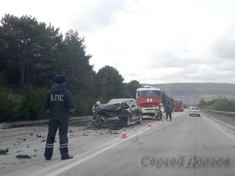 Под Севастополем произошло серьезное ДТП — есть пострадавшие