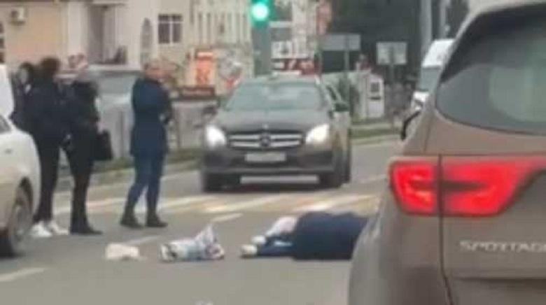 На пешеходном переходе в Севастополе сбили женщину