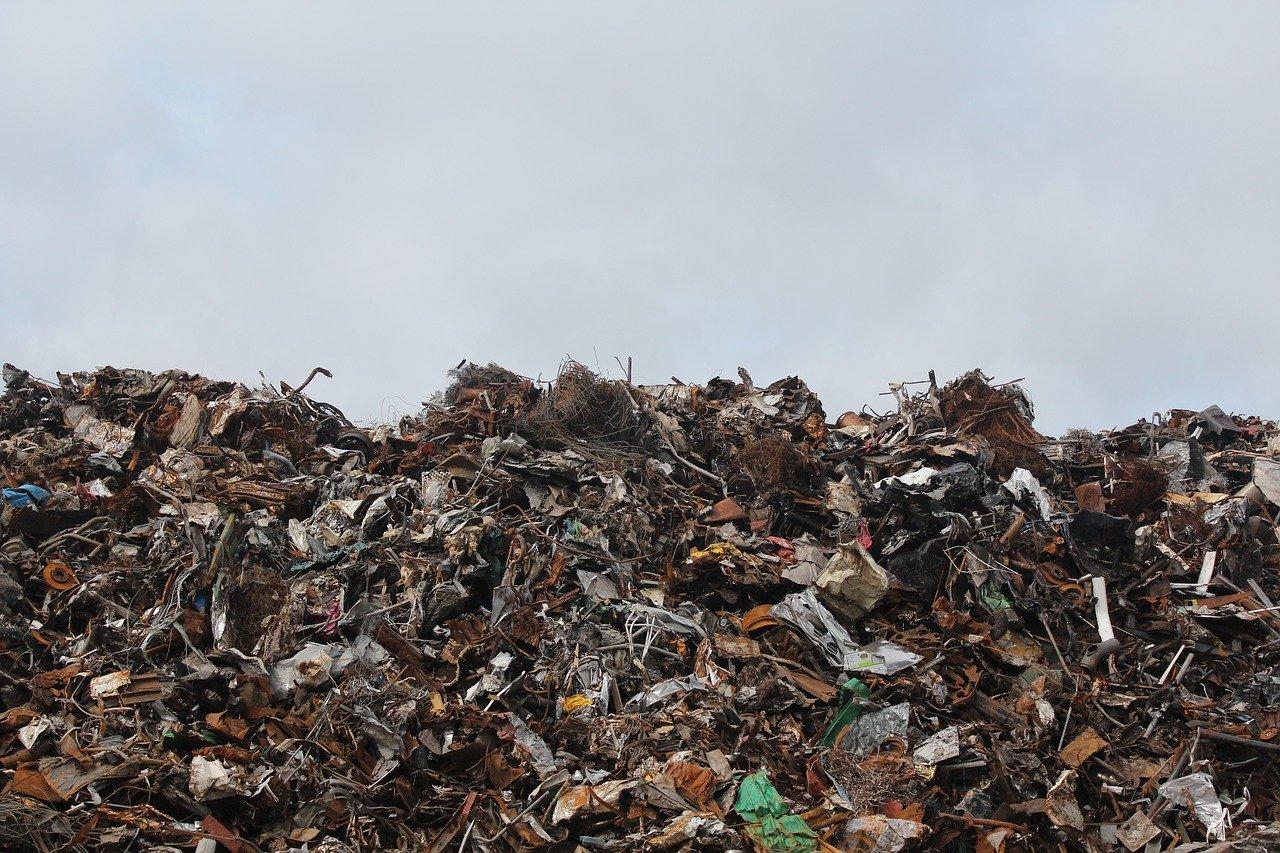 На мусорку в Севастополе выбросили гроб