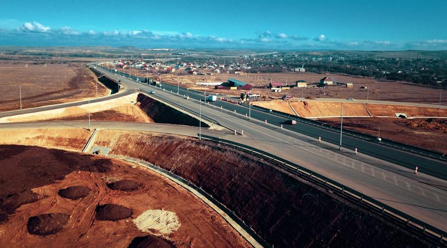 Дорожники рассказали, когда планируют завершить строительство трассы «Таврида»