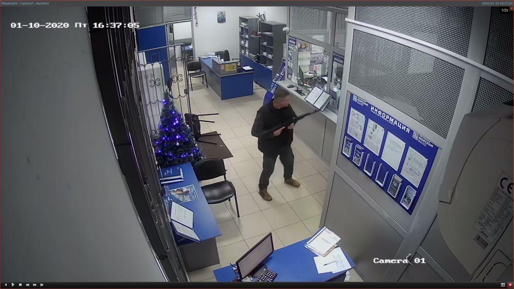 Горе-грабитель «Севастопольского морского банка» заключен под стражу