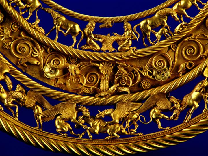 В Крыму нашли золотые украшения скифов